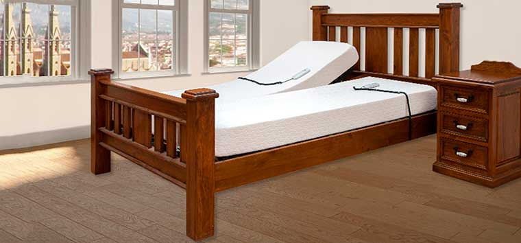 The Slievaduff Wooden Electric Bed Range