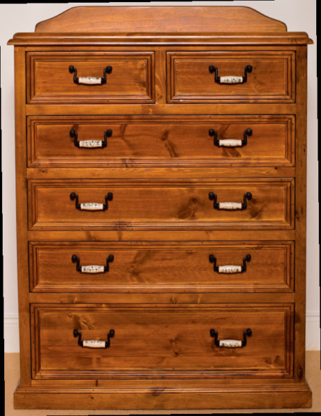 Slievaduff Mahogany 6-Drawer Tall Boy
