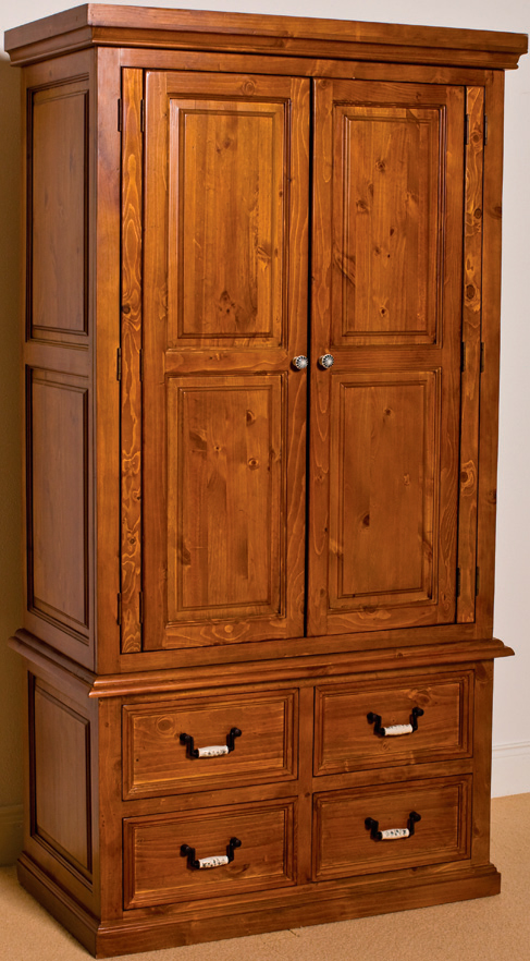 Slievaduff  2-Door 4-Drawer Robe